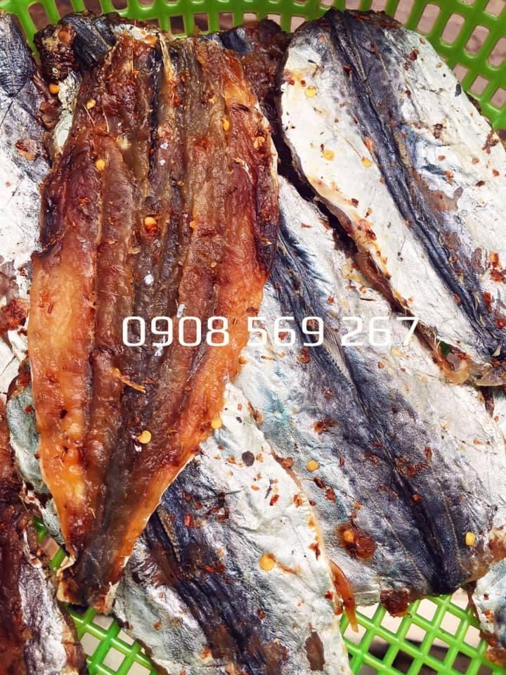 Khô cá thu xẻ phi lê không xương ướp gia vị rất ngon