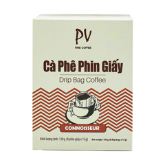 pv fine coffee connoisseur phin giay