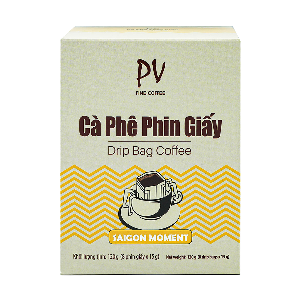 pv fine coffee sai gon moment phin giay