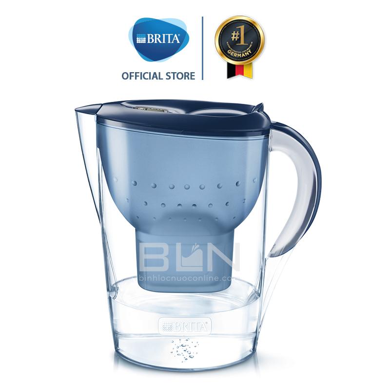 Bình lọc nước BRITA Marella XL Blue 3.5L (có sẵn 1 lõi lọc Maxtra Plus) - Thương hiệu đến từ Đức