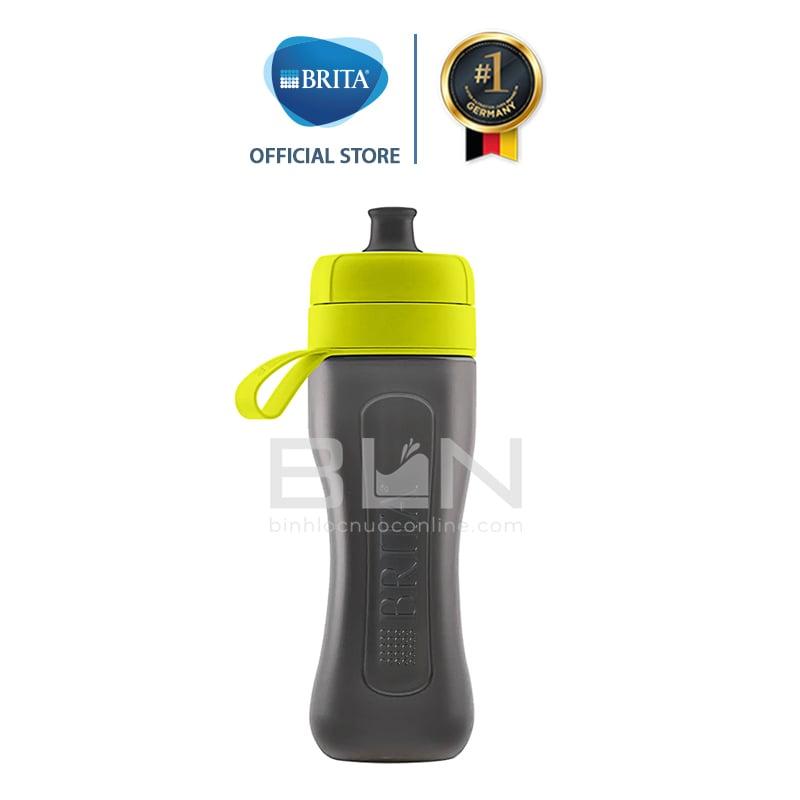 Chai lọc nước BRITA Active Lime 600ml (có sẵn 1 đĩa lọc MicroDisc) - Thương hiệu đến từ Đức