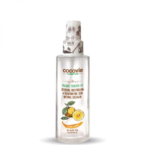 Dầu dừa cam xịt<br>Cocovie Beautifying Coconut Oil with Orange