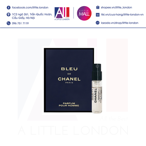 Sample nước hoa Chanel Bleu 1.5ml (Bill Anh)