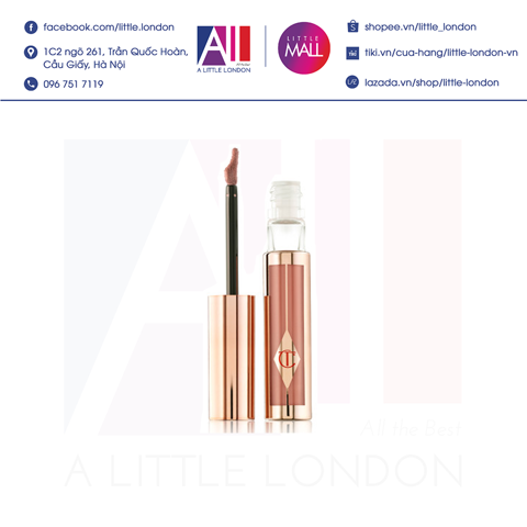 [Clearance- Dọn kho] Son kem Charlotte Tilbury Hollywood Lip Matte - Darling (Bill Anh)
