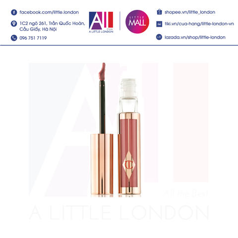 [Clearance- Dọn kho] Son kem Charlotte Tilbury Hollywood Lip Matte - Rising Star (Bill Anh)