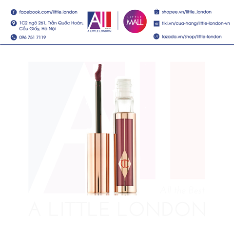 [Clearance- Dọn kho] Son kem Charlotte Tilbury Hollywood Lip Matte - Show Girl (Bill Anh)