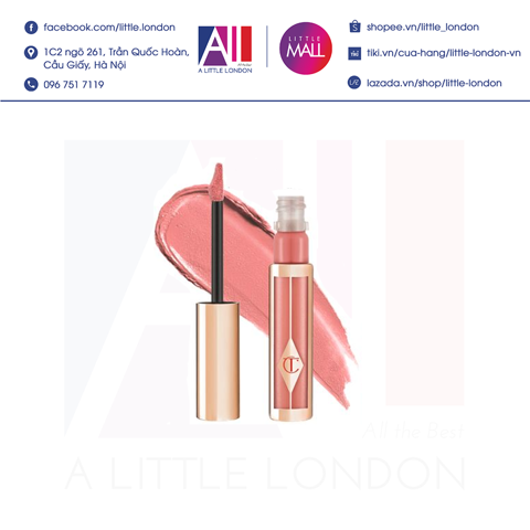 Son kem Charlotte Tilbury Hollywood Lip Matte - Too bad I'm bad (Bill Anh)