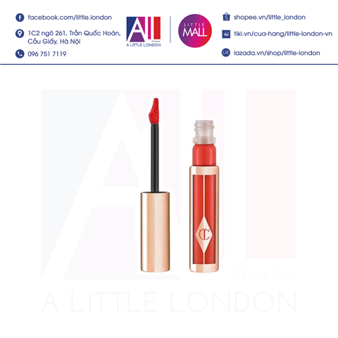 [Clearance- Dọn kho] Son kem Charlotte Tilbury Hollywood lips - Walk of Fame (Bill Anh)