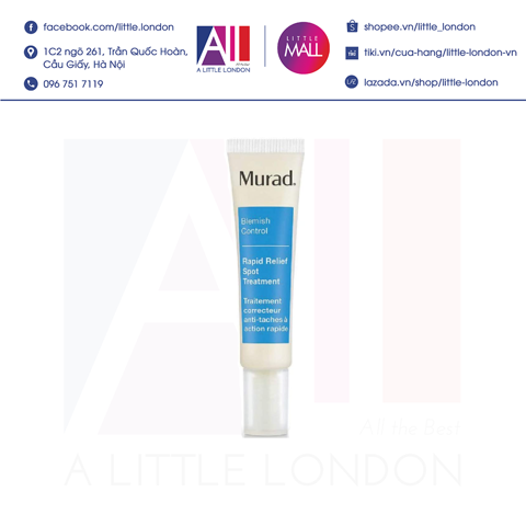 Chấm mụn Murad Blemish Control Rapid Relief Spot Treatment - 15ml (Bill Anh)