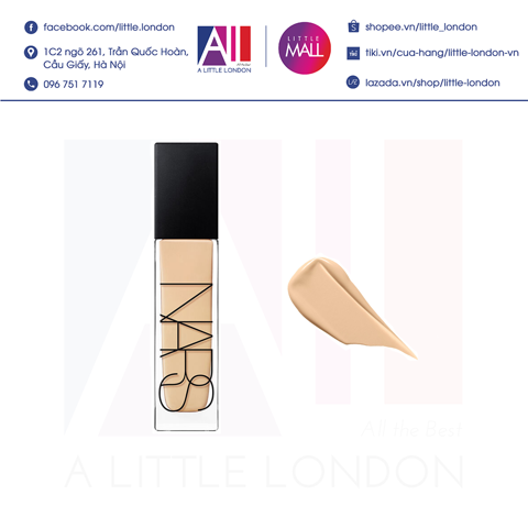 Kem nền Nars Natural Radiant Longwear Foundation 30ml - Light 4 Deauville (Bill Anh)