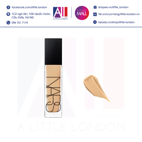 Kem nền Nars Natural Radiant Longwear Foundation 30ml - Light 5 Fiji (Bill Anh)