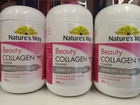Bổ sung Collagen dạng bột pha uống  Nature's Way Beauty Collagen Powder 120g