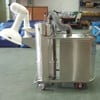 Pharmaceutical tableting machine dust collecting