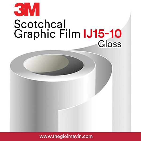 3M™ Scotchcal™ Graphic Film IJ15 - 10 Gloss