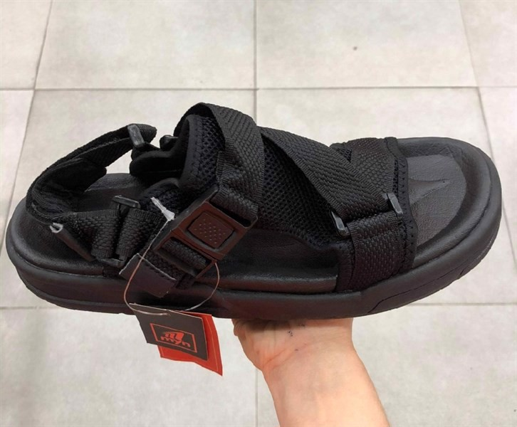 SANDAL ZX MS 1109 ALL BLACK