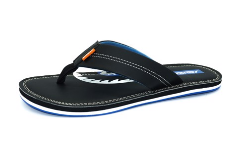 Dép Slipper Vento H0208 Black & Blue