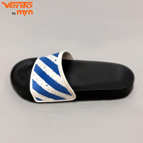 Dép Slide Vento FL02  White x Blue