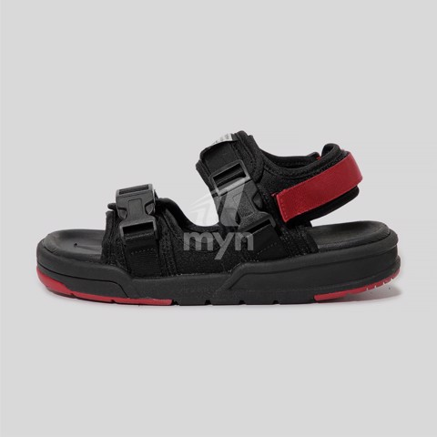 Sandal streetwear Vento 1002 Black Red