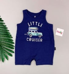 [5-11kg] Romper Đùi Baby Gap [Boy] - Navy/Little