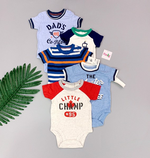 [4-12kg] Set 5 Bodysuit Baby B'gosh [Random] - Boy