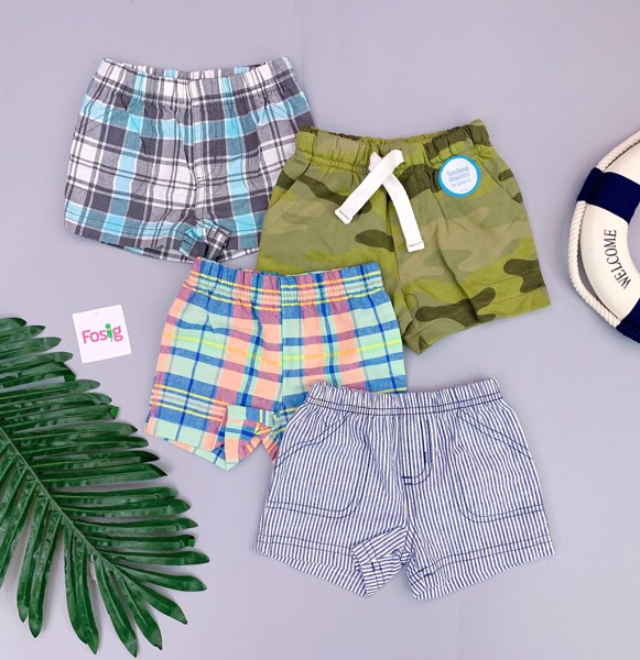 [4-13kg] Set 4 Quần Short Carter's [Boy] - Random