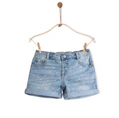 [13-14lg] Quần Short Jean [Girl] - Crazy8