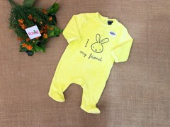 Sleepsuit Kiabi [girl/boy] - Vàng Chanh/Thỏ [My Friend]