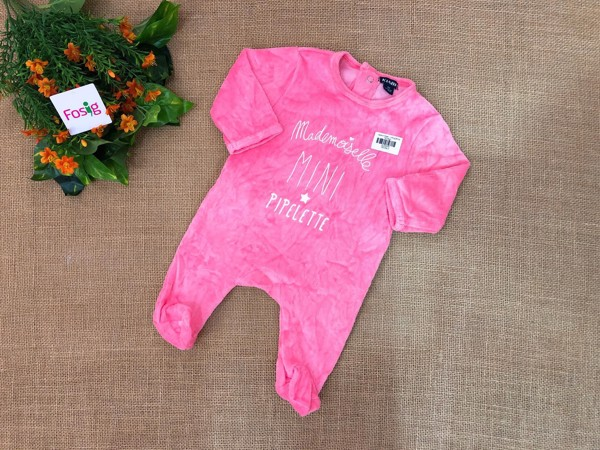 [10-11kg] Sleepsuit Kiabi [girl] - Hồng [Mini]