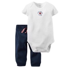 Set 2 Carter's 1312 baby boy - [White/Super Cute 36]