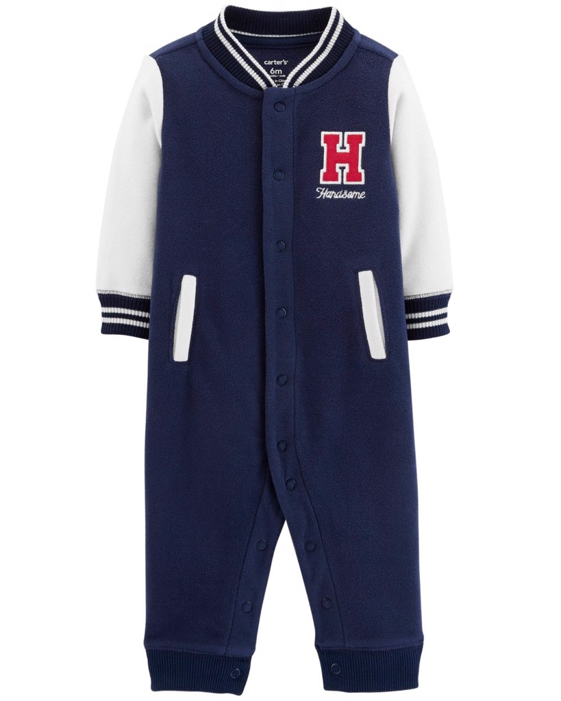 Romper Carter's 23 [Boy] - Xanh Navy/Handsone