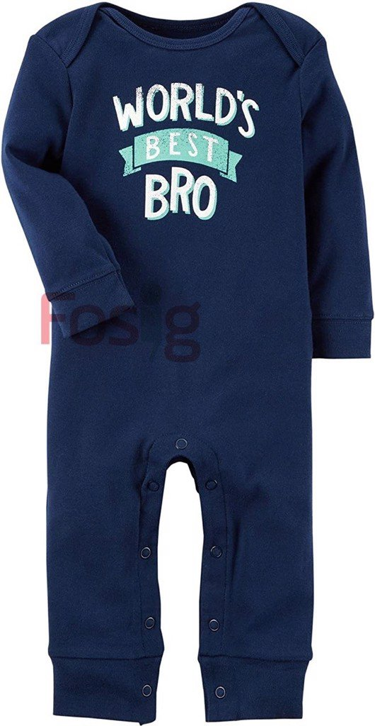 [5-6kg] Sleepsuit Bé Trai Carter's - Navy/World's