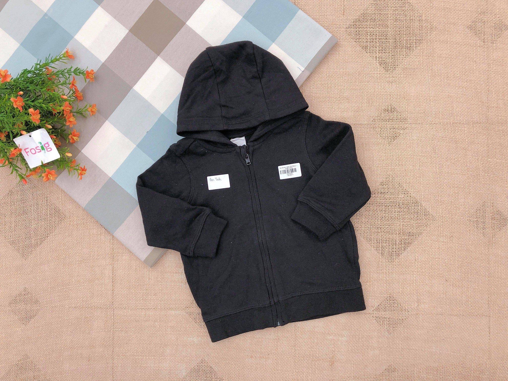 Áo Khoác H&M [Girl/Boy] - Đen Trơn