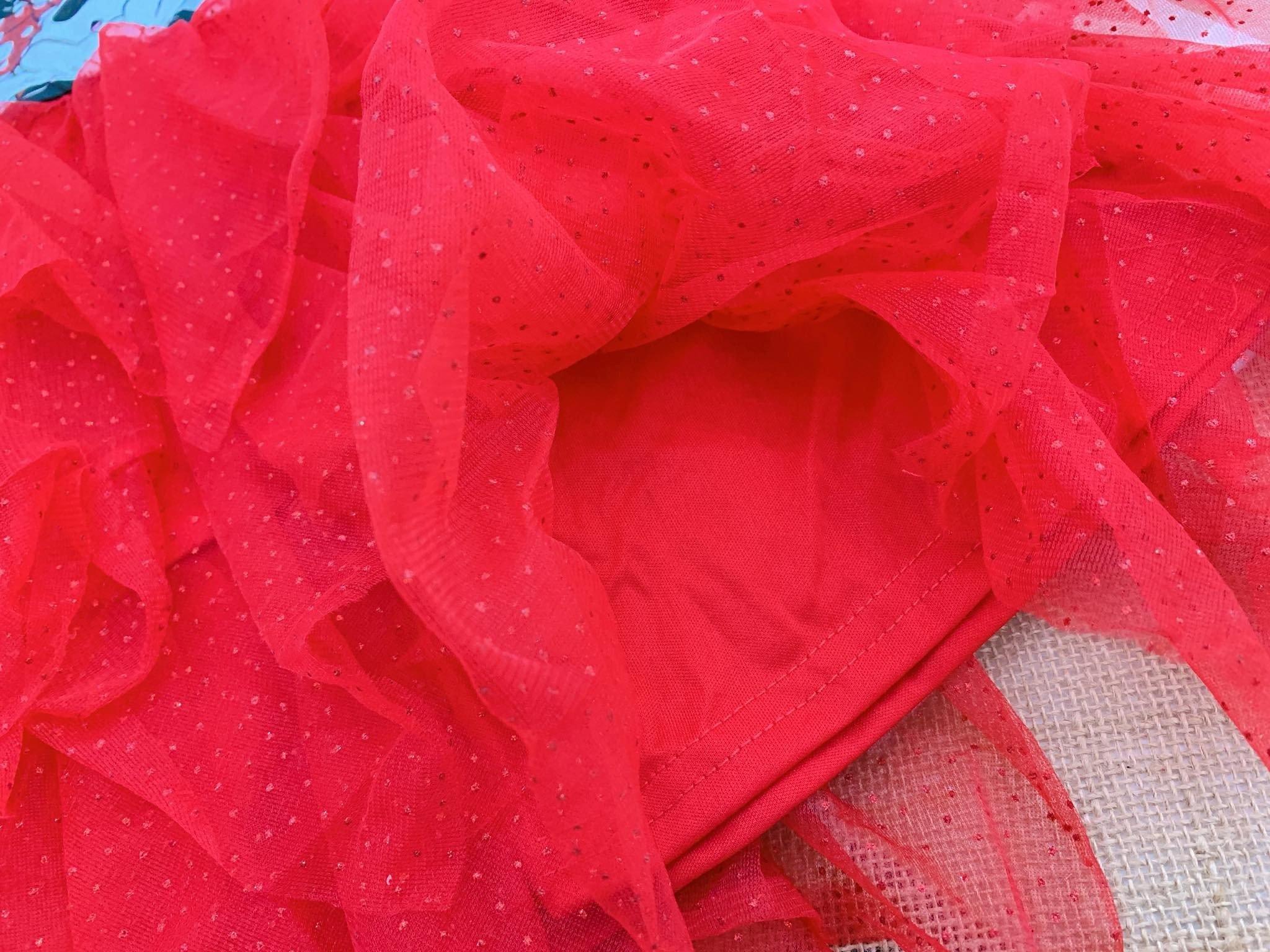 Đầm Đisney [Girl] - Xám/Đỏ/Mickey Nơ