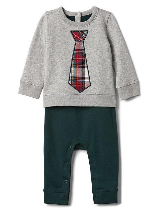 Sleepsuit BaBy Gap [Boy] -Xám/Caravet