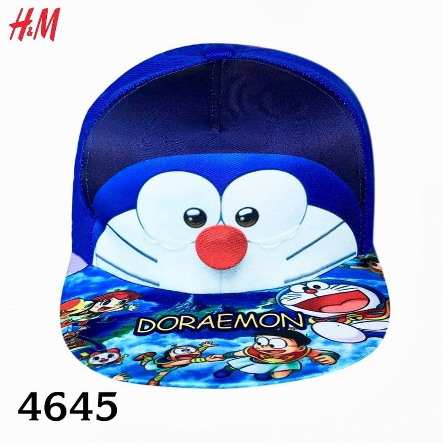 Nón H&M BaBy Boy - Xanh Dương/Doraemon