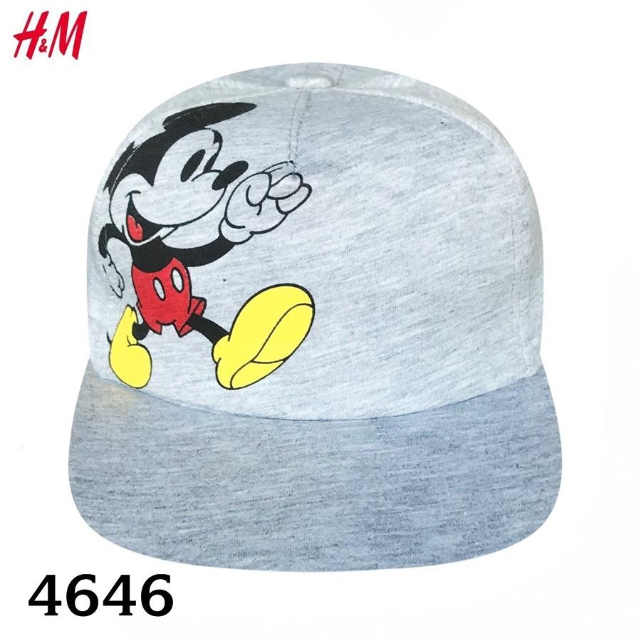 Nón H&M BaBy Boy - Xám Trắng/Mickey