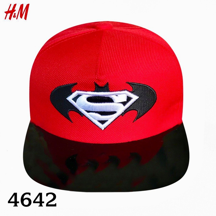 Nón H&M BaBy Boy - Đỏ/Batman/Superman