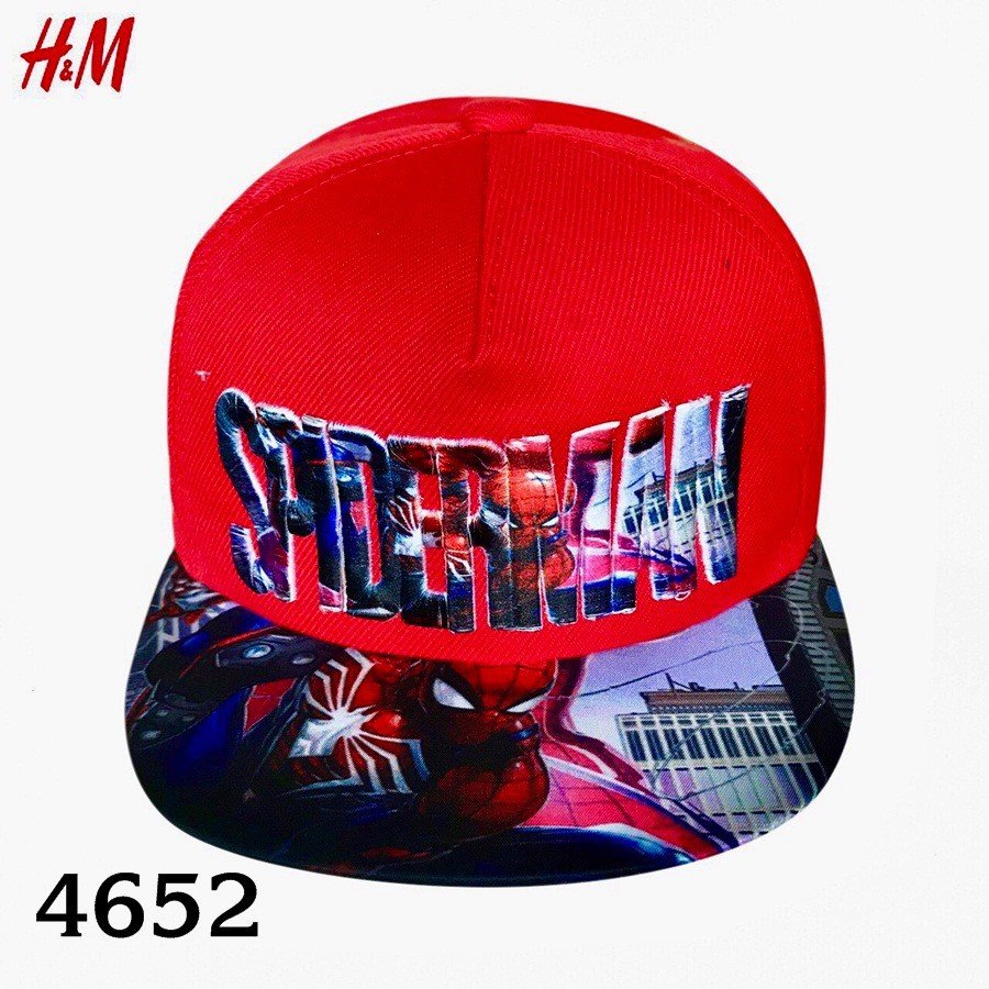 Nón H&M BaBy Boy - Đỏ/SpiderMan