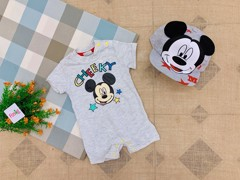[4-10kg] Body Đùi Đisney 011 [Boy] - Xám/Mickey