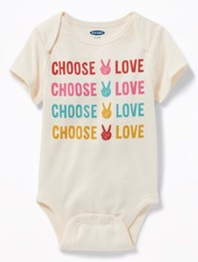 [8-12kg] Bodysuit OldNavy 05 [Boy] - Kem/Choose Love