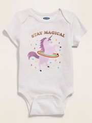 Bodysuit Old Navy 05 [Girl] - Trắng/Stay Magica