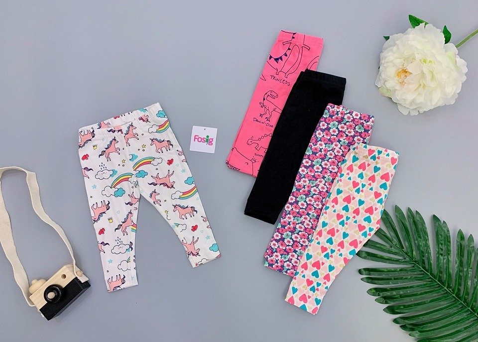 [4-17kg] Set 5 Quần Legging Carter