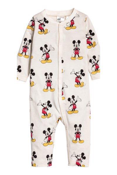 [9-10kg] Sleepsuit H&M [Boy/Girl] - Kem/Mickey
