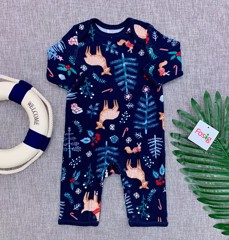 [8-11kg] Sleepsuit Old Navy 22 [Boy] - Xanh Navy/Nai Qùa