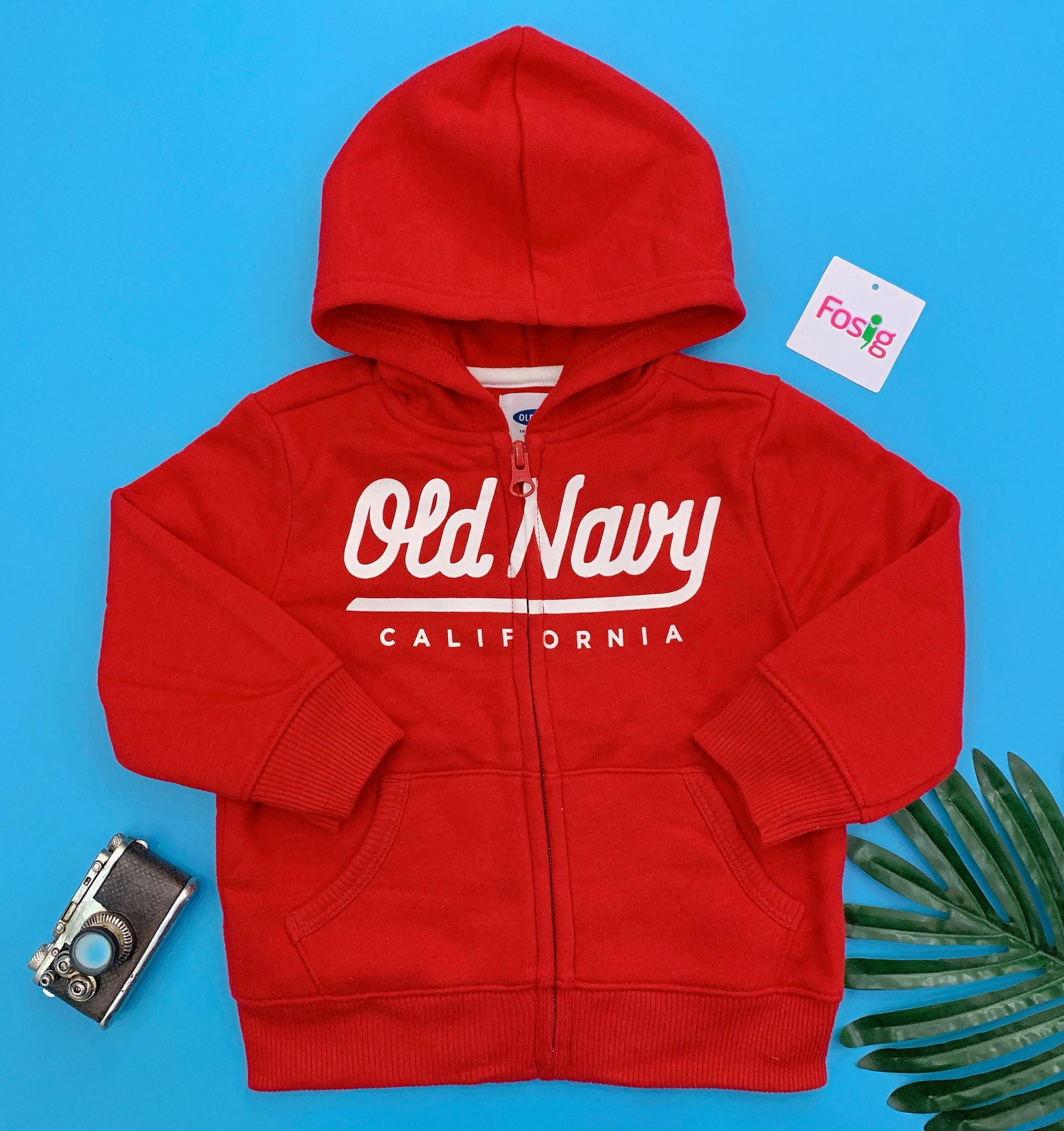 [9-17kg] Áo Khoác Old Navy [Boy] - Đỏ/Old Navy