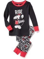 Đồ Bộ Old Navy 26 [Boy] - Đen/Rise And Mickey