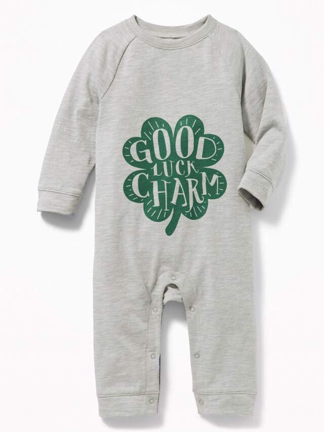 [13-14kg] Sleepsuit Old Navy 60 [Boy] - Xám/Good