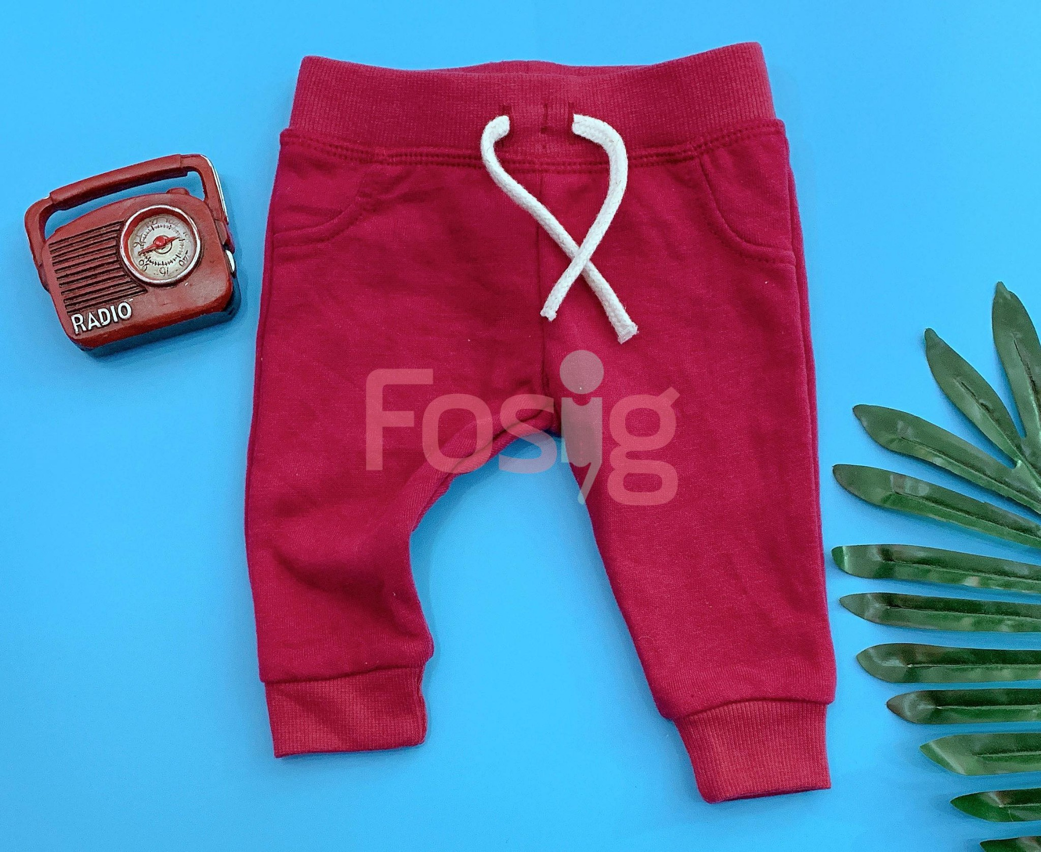 [4-16kg] Quần Jogger Primark 71 [Boy] - Đỏ Đô