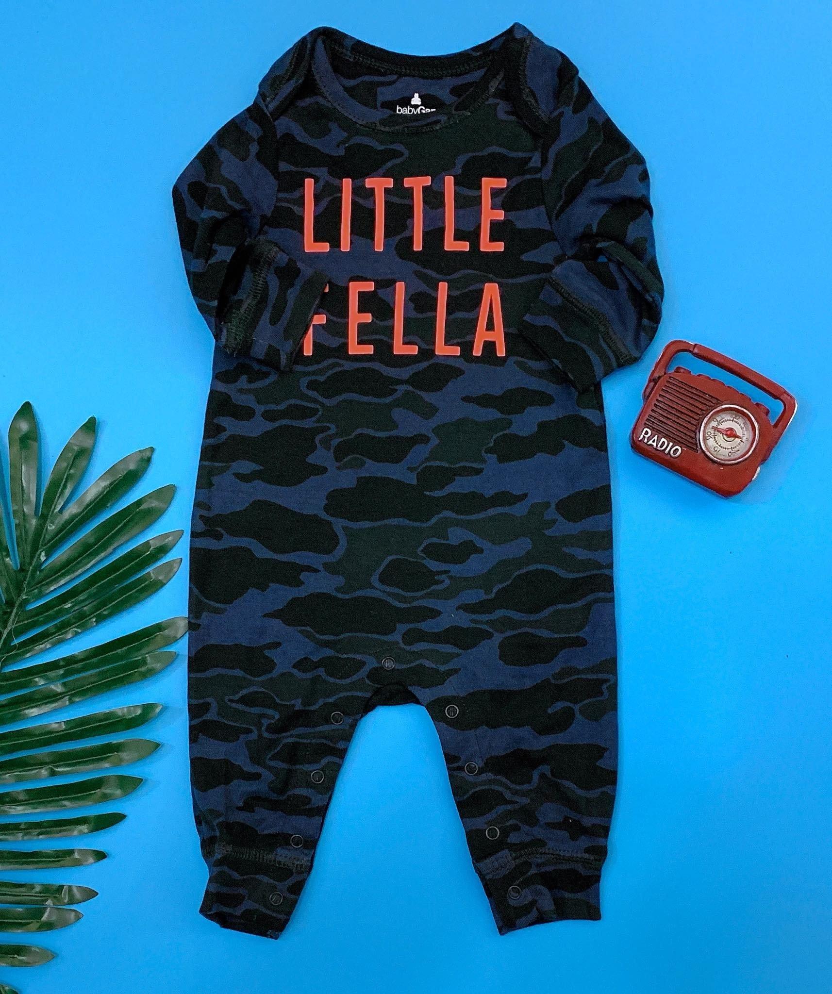 [5-8kg] Sleepsuit Baby Gap 56 [Boy] - Rằn Ri/Little