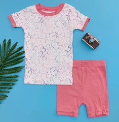 [12-13kg] Đồ bộ Old Navy baby girl [Rabbit] - White/Pink